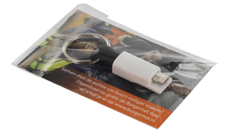 smartcable smartphone USB oplader bedrukt luxe verpakking