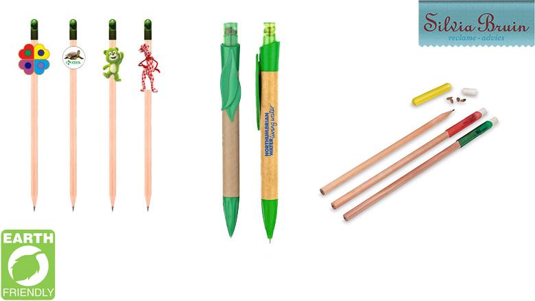 Pen met zaden