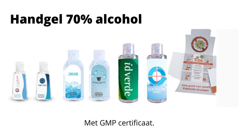 Handgel desinfecterend met 75% Alcohol (Ethanol)