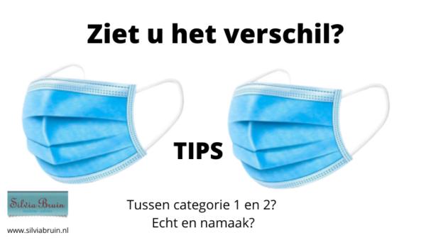 tips bij mondmaskers
