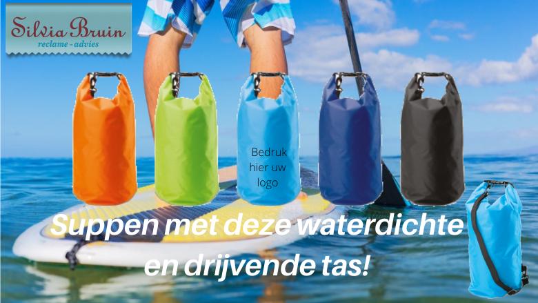 Waterdichte en drijvende rugtas ideaal voor de watersport