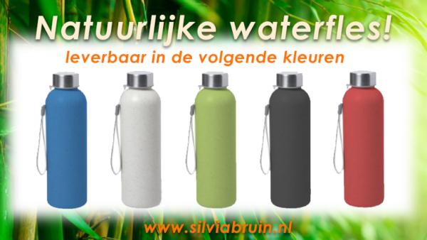 drinfles en waterfles duurzaam geschenk