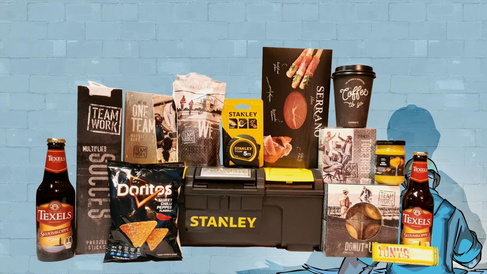 Stanley gereedschapskoffer kerstpakket