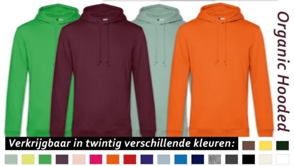 kleuren organic hooded