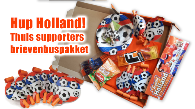 EK voetbal supporters brievenbuspakket