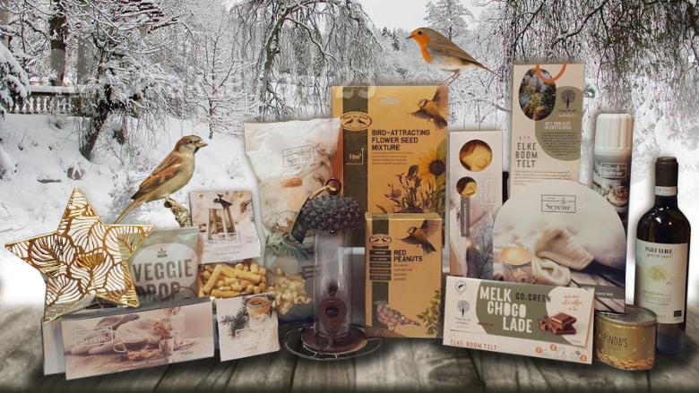 Wonderlijke wintertuin kerstpakket