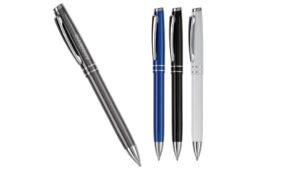 aluminium pen met twee strepen